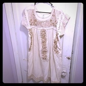 Dresses & Skirts - Embroidered Vintage Mexican Dress